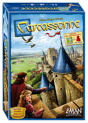 Carcassonne - Core Game: www.mightylancergames.co.uk