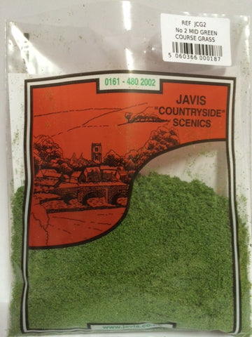 Jarvis NO.2 MID GREEN COURSE GRASS - PREMIER RANGE 6s