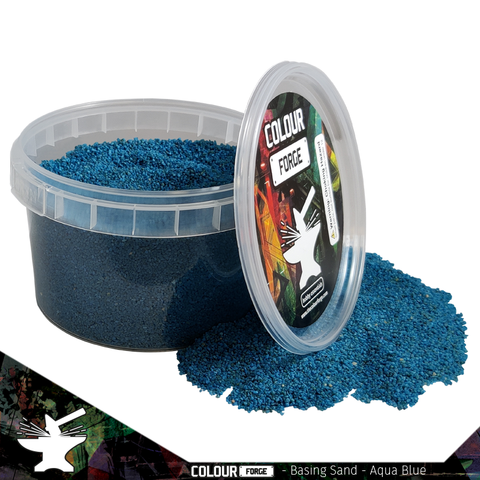 Basing Sand – Aqua Blue - Colour Forge -BAS204