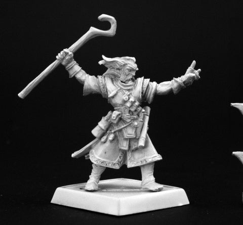 Reaper Pathfinder Miniatures 60002 - Ezren Wizard: www.mightylancergames.co.uk
