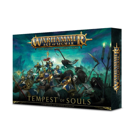 Warhammer Age of Sigmar Tempest of Souls: www.mightylancergames.co.uk