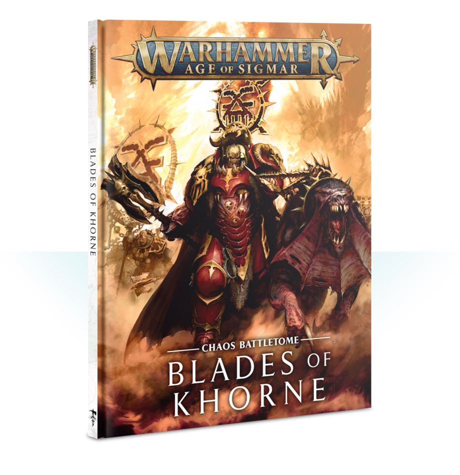 Battletome - Blades of Khorne (Age of Sigmar) :www.mightylancergames.co.uk