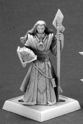 Reaper Pathfinder Miniatures - 60098 - Khalib, Runelord Apprentice: www.mightylancergames.co.uk
