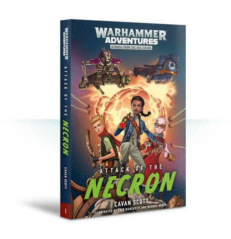 Book 1: Warped Galaxies - Attack of the Necron (Paperback) Pre-order product that will ship on 16/02/2019