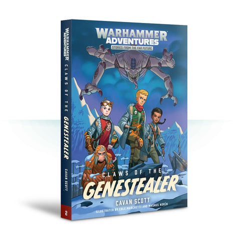 Book 2: Warped Galaxies – Claws of the Genestealer (Paperback)