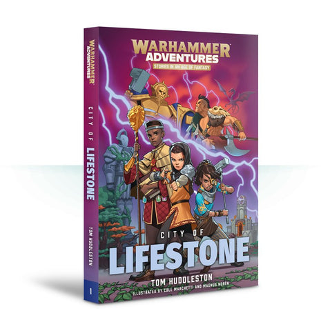 Book 1: Realm Quest - City of Lifestone (Paperback) Pre-order product that will ship on 16/02/2019