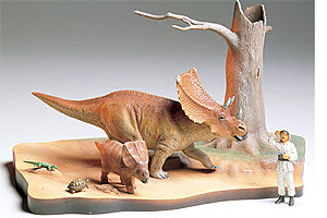 CHASMOSAURUS DIORAMA - Tamiya (1/35) Model Kit