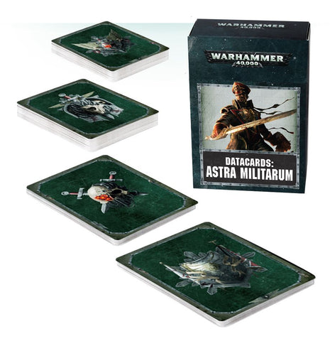 Datacards -  Astra Militarum (Warhammer 40k): www,mightylancergames.co.uk