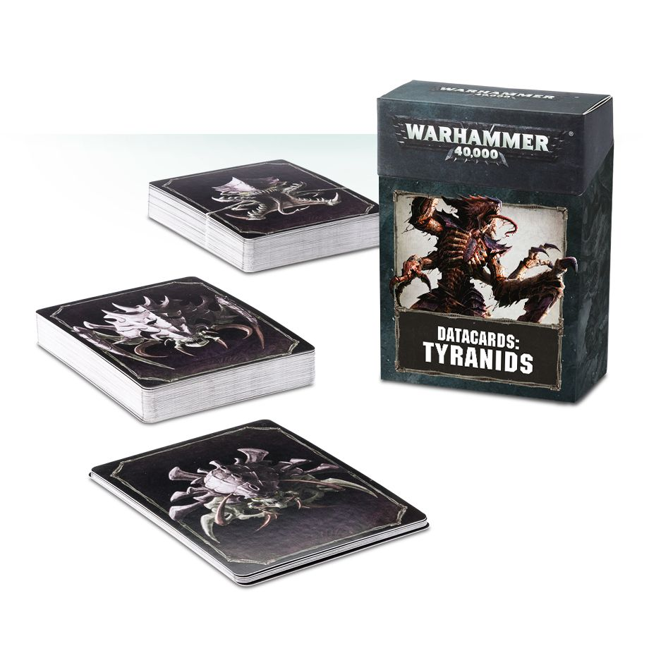 Tyranids Datacards (Warhammer 40k): www.mightylancergames.co.uk