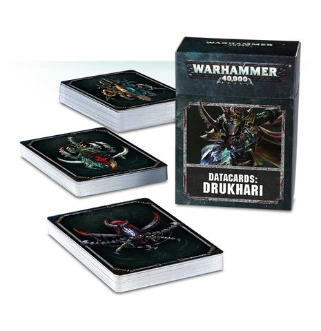 Drukhari Datacards (Warhammer 40k): www.mightylancergames.co.uk