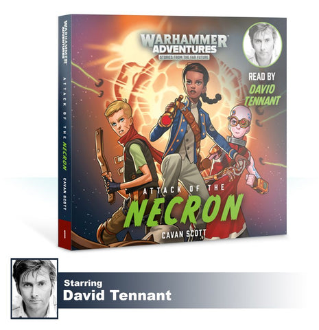 Book 1: Warped Galaxies - Attack of the Necron (CD) Pre-order product that will ship on 16/02/2019