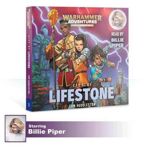 Book 1: Realm Quest - City of Lifestone (CD) Pre-order product that will ship on 16/02/2019