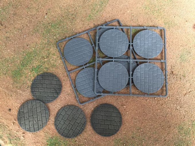 Renedra: 60mm Diameter Paved Effect Bases