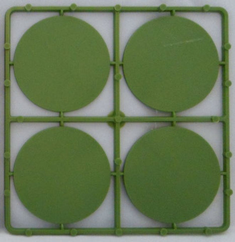 Renedra: 60mm Diameter Wargaming Bases- 8 bases