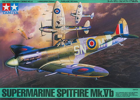 Supermarine Spitfire Mk.Vb - Tamiya 1/48 (N0.33) :www.mightylancergames.co.uk
