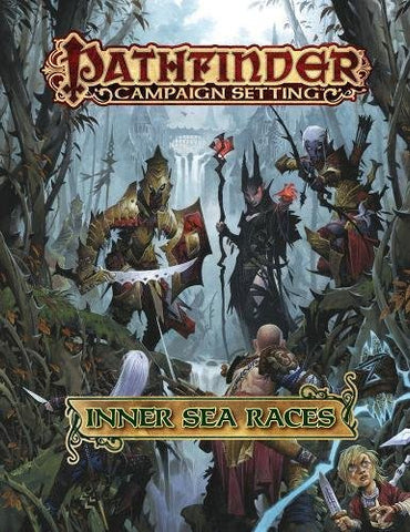 Pathfinder Campaign Setting: Inner Sea Races - Hardback book