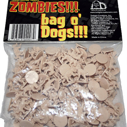 Zombies!!! - Bag O' Dogs; www.mightylancergames.co.uk