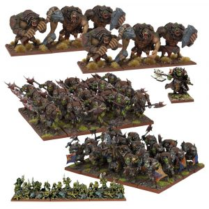 Orc Army - Kings of War :www.mightylancergames.co.uk