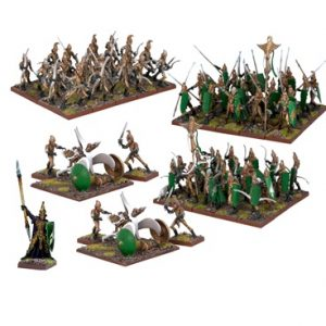 Elf Army - Kings of War :www.mightylancergames.co.uk