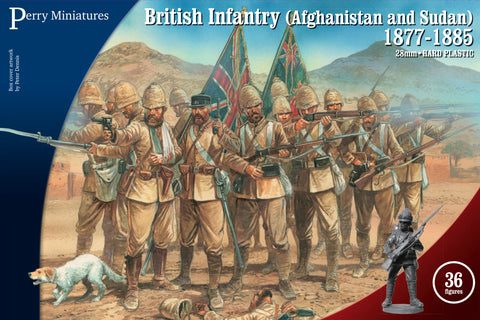 British Infantry in Afghanistan and Sudan 1877-85 - VLW1 (Perry Miniatures)