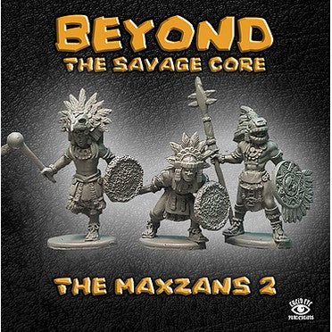 Maxzans 2 - Beyond the Savage Core: www.mightylancergames.co.uk