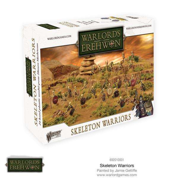 Warlords of Erehwon - Skeleton Warriors: www.mightylancergames.co.uk