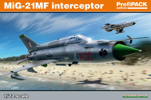 MiG-21MF interceptor 1/72 (Eduard Kit -Profipack)