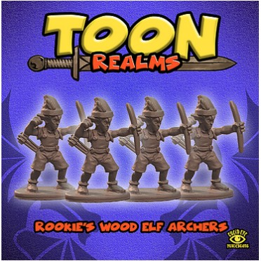 Rookie's Wood Elf Archers - Toon Realms: www.mightylancergames.co.uk