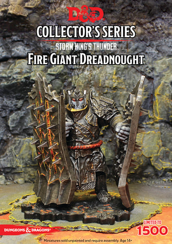 Fire Giant Dreadnought - Storm King's Thunder - D&D Collectors series :www.mightylancergames.co.uk