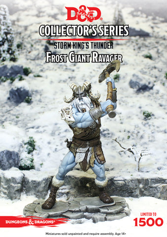 D&D Collector's Limited Edition Series - Frost Giant Ravager (Limited Edition Dungeons & Dragons): www.mightylancergames.co.uk
