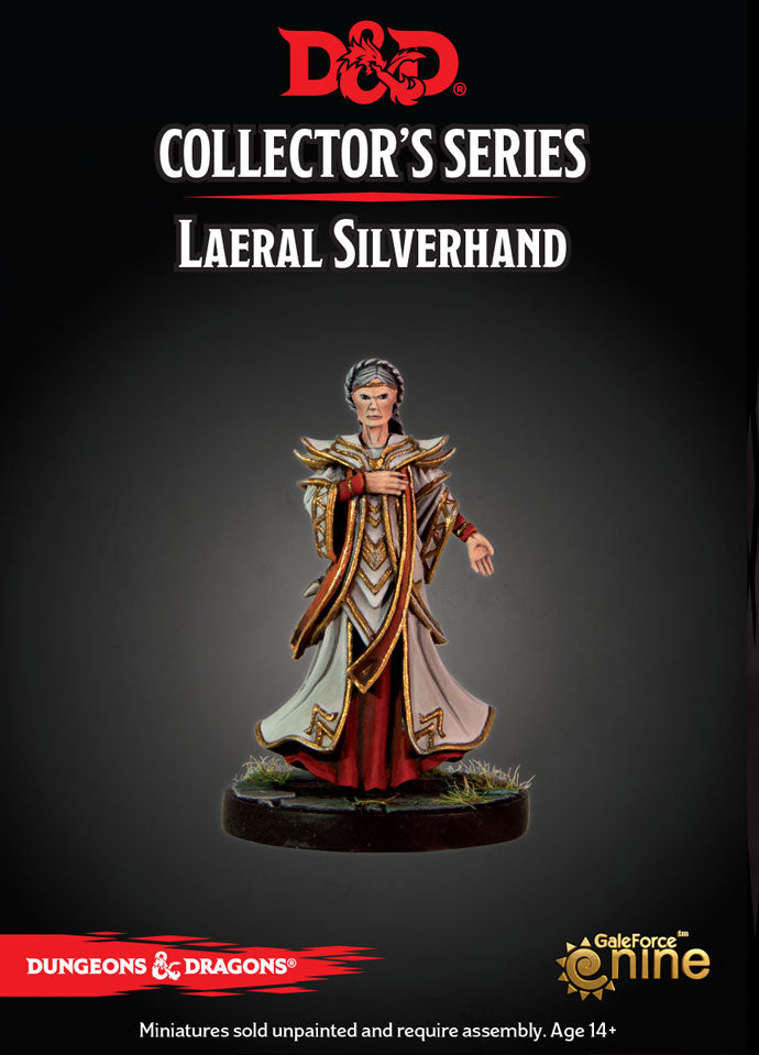 D&D Collector's Series - Laeral Silverhand (Dungeons & Dragons): www.mightylancergames.co.uk