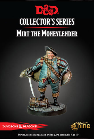 D&D Collector's Series - Mirt the Moneylender (Dungeons & Dragons): www.mightylancergames.co.uk