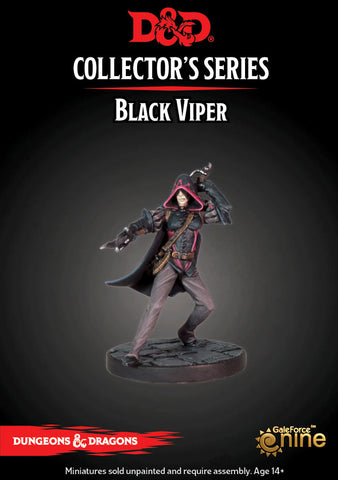 D&D Collector's Series - Black Viper (Dungeons & Dragons): www.mightylancergames.co.uk