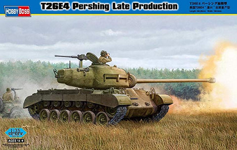 T26E4 Pershing Late Production - Hobby Boss 1/35 :www.mightylancergames.co.uk