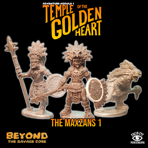 The Maxzans 1 - Beyond the Savage Core