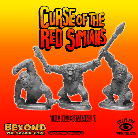 Red Simians - Beyond the Savage Core: www.mightylancergames.co.uk