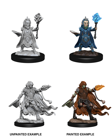 Pathfinder Deep Cuts Miniatures: Evil Wizards [SKU: 72586]