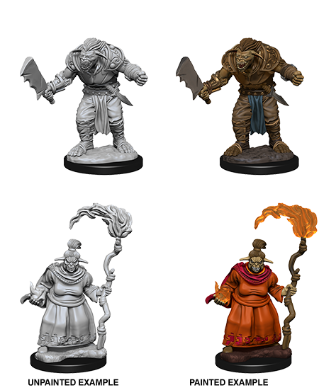 Pathfinder Deep Cuts Miniatures: Bugbears [SKU: 72587]
