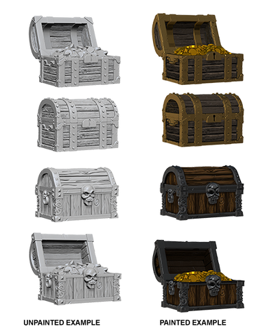 Pathfinder Deep Cuts Miniatures: Chests [SKU: 72590]