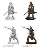 Wizkids Pathfinder Deep Cuts Miniatures: Human Male Fighter : 72596