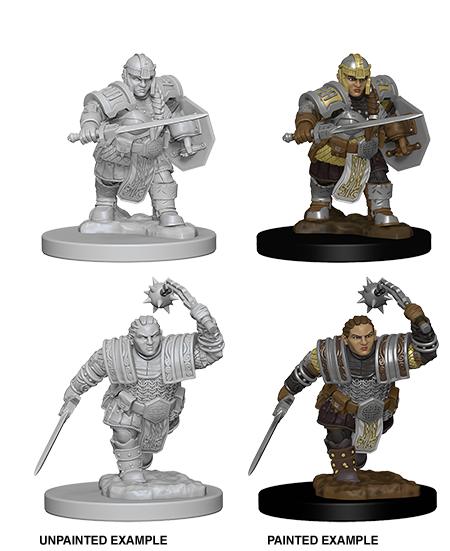 D&D Nolzur's Marvelous Minis: Dwarf Fighter [SKU: 72617]