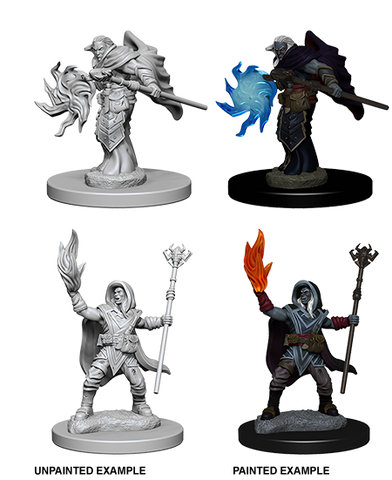 D&D Nolzur's Marvelous Minis: Elf Wizard (SKU: 72622)