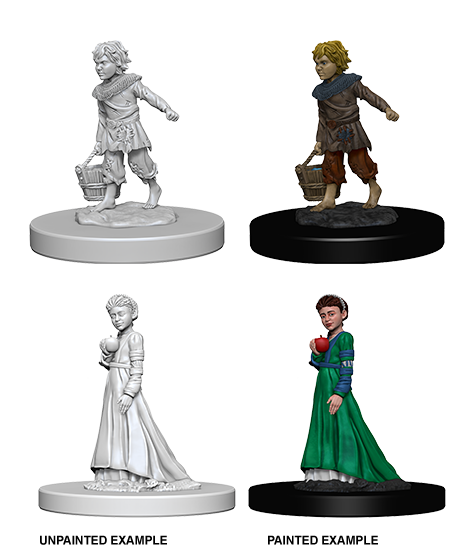 Pathfinder Deep Cuts Miniatures: Children [SKU: 73183]
