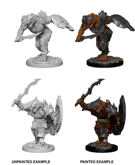 Wizkids D&D Nolzur's Marvelous Miniatures: Dragonborn Fighter 73198