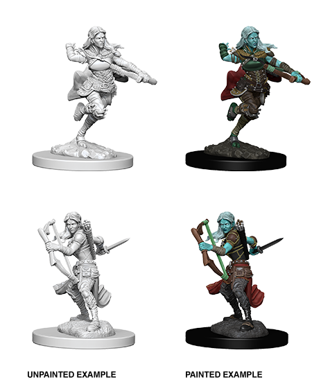 Wizkids D&D Nolzur's Marvelous Miniatures: Air Genasi Rogue 73204