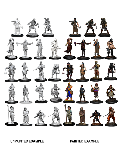 WizKids Townspeople and Accessories 73698 - Deep Cuts