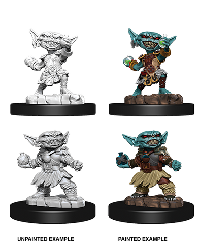 WizKids: Female Goblin Alchemist 73721- Pathfinder Battles Deep Cuts