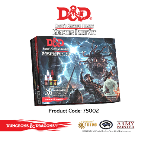 D & D MONSTERS PAINT SET