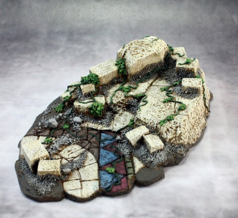 74027: Ruins Vignette Base (resin base)