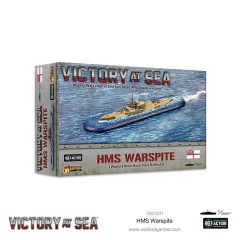 HMS Warspite - Victory at Sea ***Pre-order for 30th August 2020***
